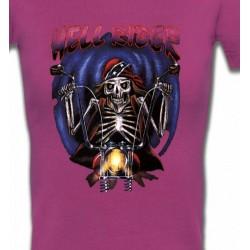 T-Shirts Véhicule Motard de l'enfer (B2)