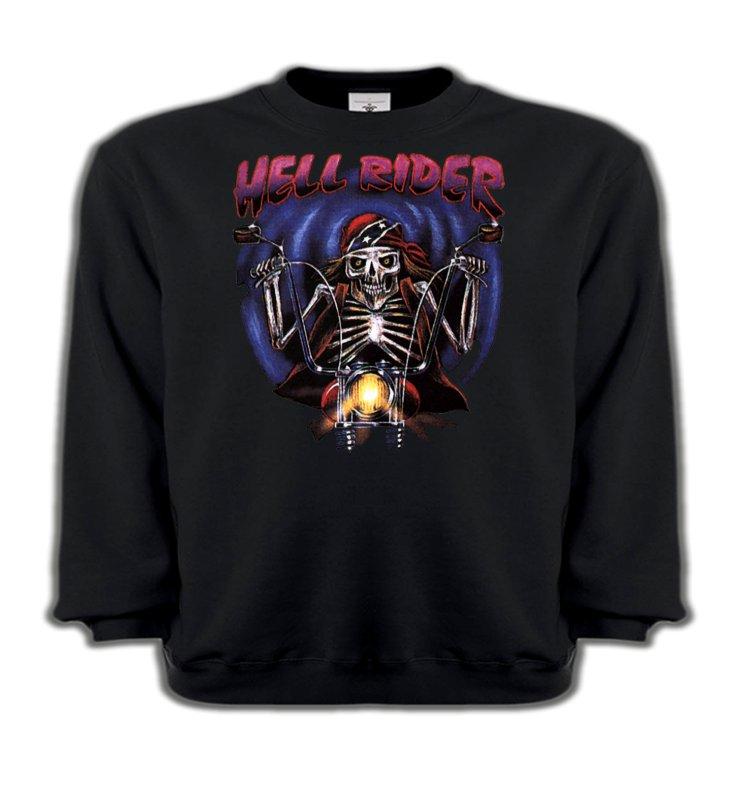 Sweatshirts EnfantsMotosMotard de l'enfer (B2)
