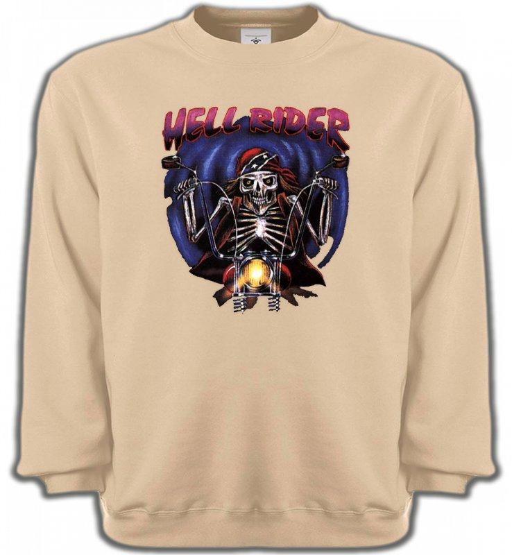 Sweatshirts UnisexeMotosMotard de l'enfer (B2)