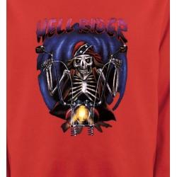 Sweatshirts Véhicule Motard de l'enfer (B2)