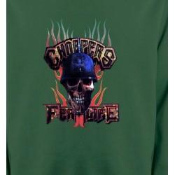 Sweatshirts Véhicule Crâne Chopper