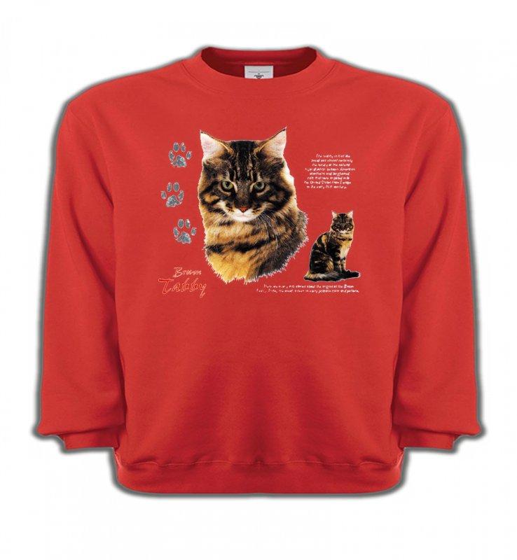 Sweatshirts EnfantsRaces de chatsChat tigré brun (Q)
