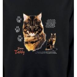 Sweatshirts Sweatshirts Enfants Chat tigré brun (Q)