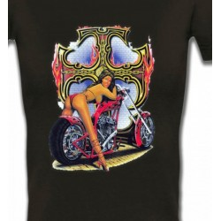 T-Shirts Véhicule Femme bikers (S)