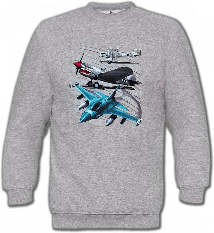 Sweatshirts UnisexeAvionsAvions