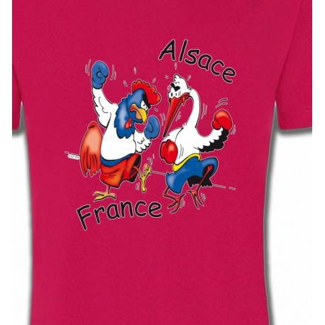 coq France  cigogne Alsace