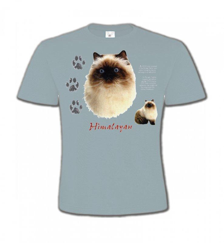 T-Shirts Col Rond EnfantsRaces de chatsChat Himalayen (U)