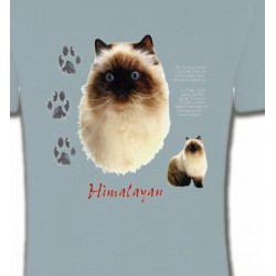 T-Shirts T-Shirts Col Rond Enfants Chat Himalayen (U)