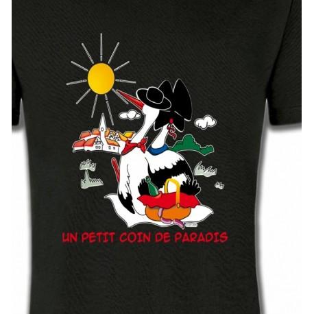 T-Shirt Un petit coin de paradis Alsace