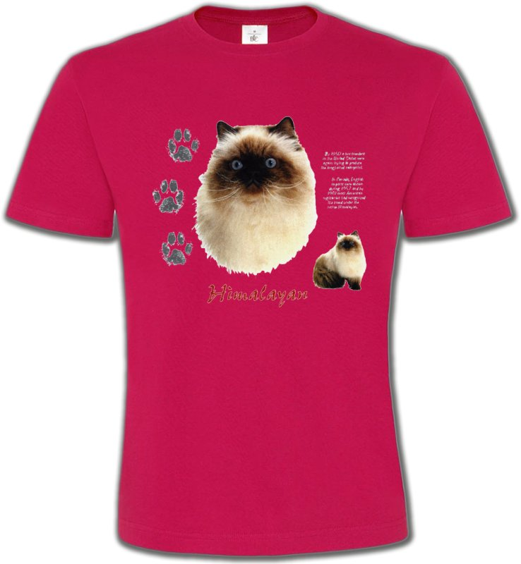 T-Shirts Col Rond UnisexeRaces de chatsChat Himalayen (U)