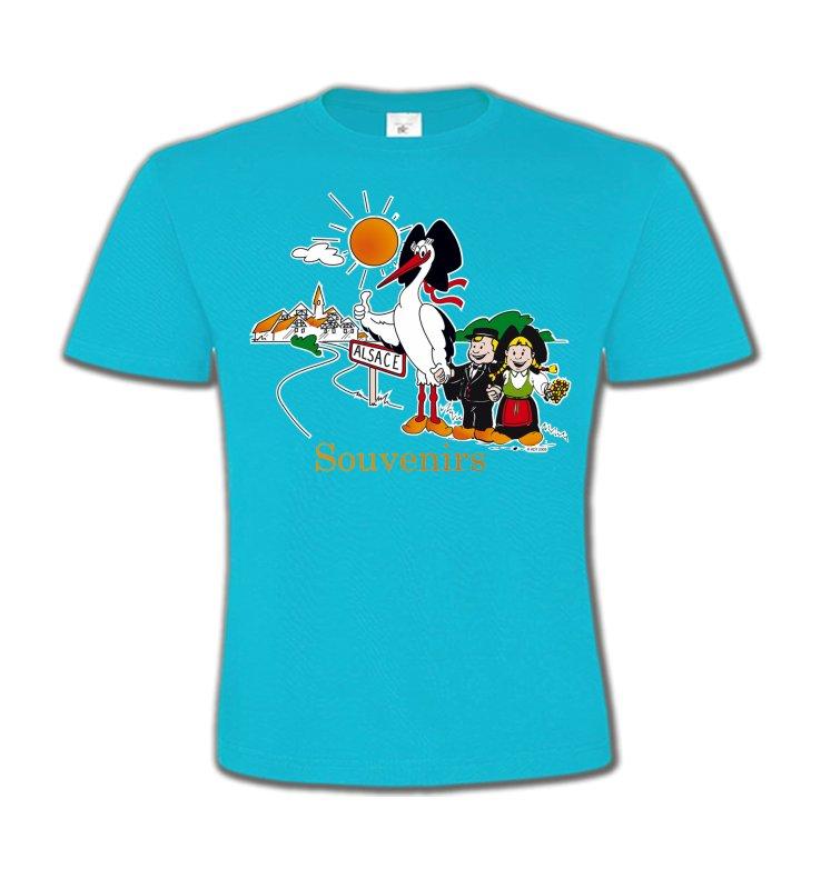T-Shirts Col Rond EnfantsAlsace  souvenirSouvenirs Alsace