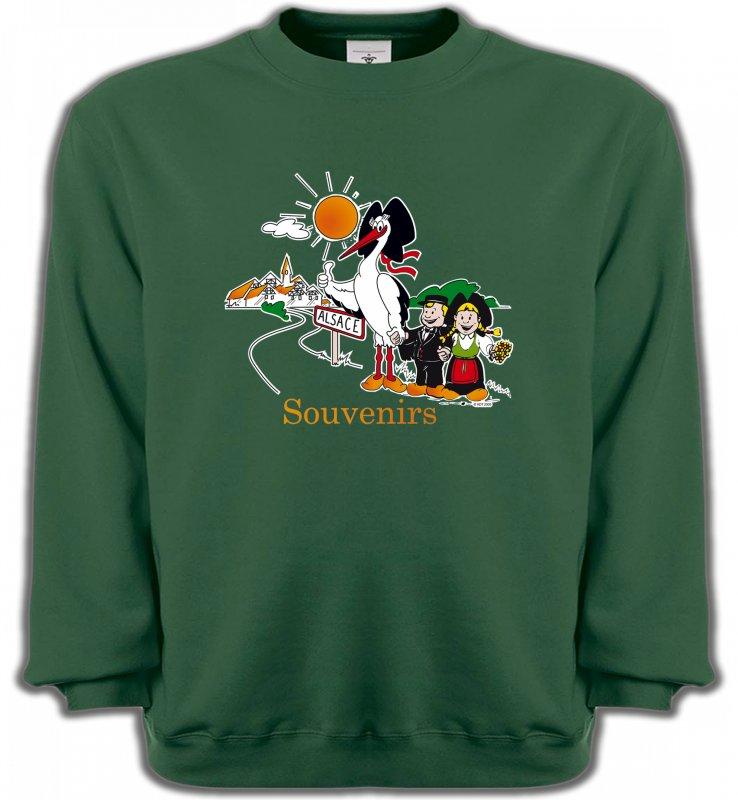 Sweatshirts UnisexeAlsace  souvenirSouvenirs Alsace