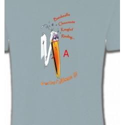 T-Shirts Alsace  souvenir Cigogne fêtarde gourmande