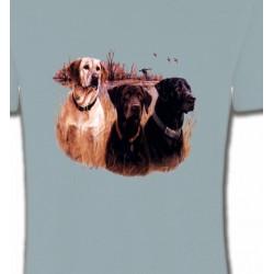 T-Shirts Chasse et Pêche Trois chiens de chasse
