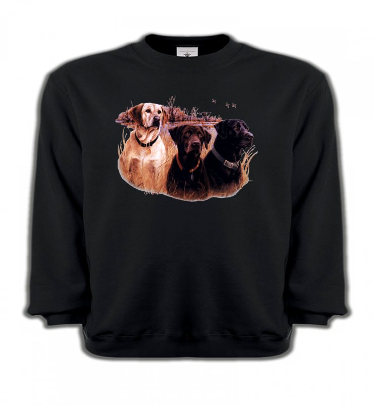 Sweatshirts EnfantsChasseTrois chiens de chasse