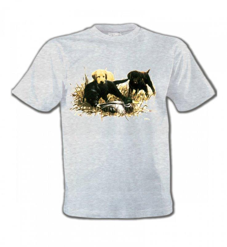 T-Shirts Col Rond EnfantsLabradorLabradors qui jouent (Y)