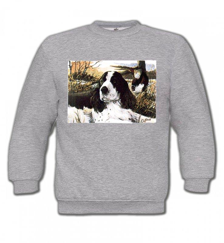 Sweatshirts EnfantsCockerCocker dans l'herbe (M)