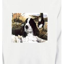 Sweatshirts Chasse et Pêche Cocker dans l'herbe (M)