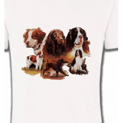 T-Shirts Chasse et Pêche Epagneul (A)