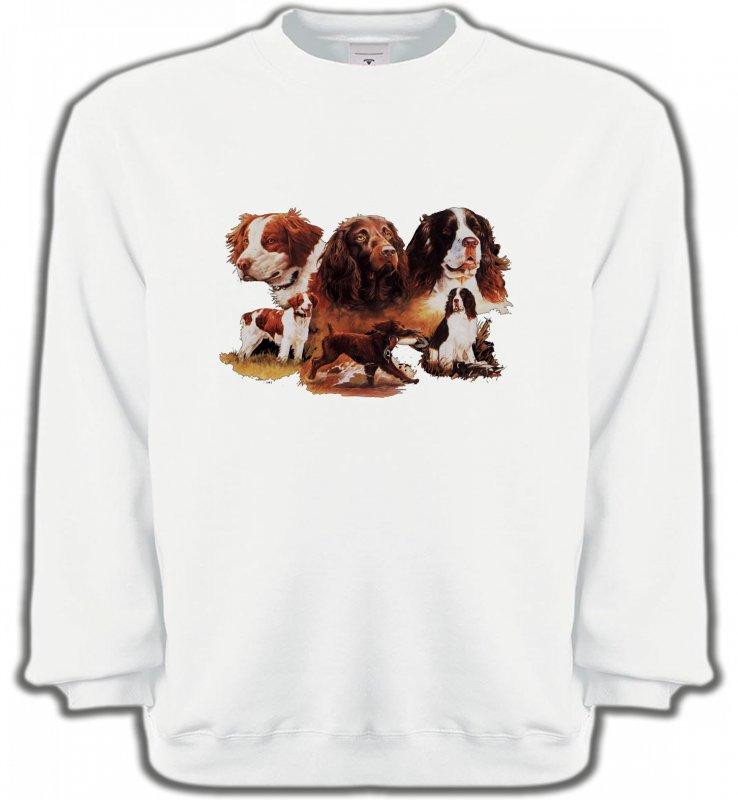 Sweatshirts UnisexeEpagneulEpagneul (A)