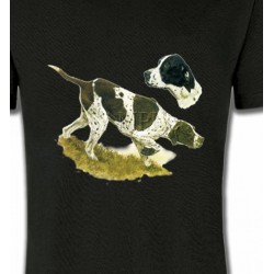 T-Shirts Chasse et Pêche Pointer (H)