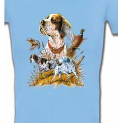 T-Shirts Chasse et Pêche Epagneul (F)