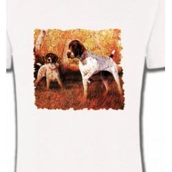 T-Shirts Chasse et Pêche Pointer (I)