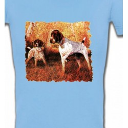 T-Shirts Chasse et Pêche Pointer (I)