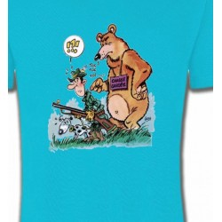 T-Shirts Humour/amour Humour chasseur (F)