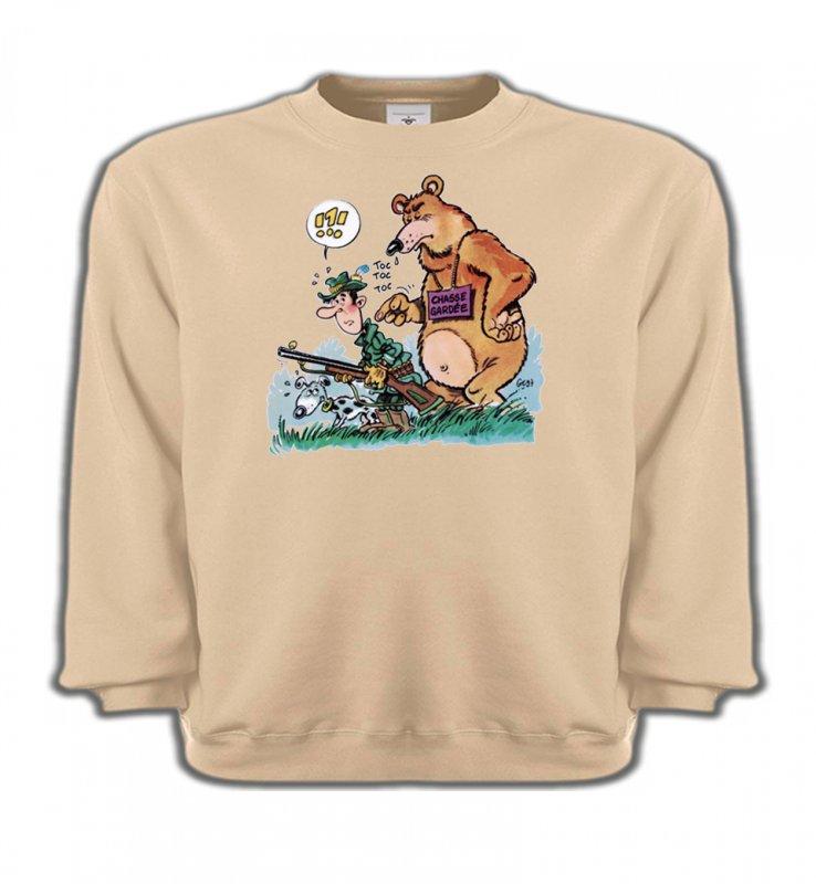 Sweatshirts EnfantsHumour/amourHumour chasseur (F)