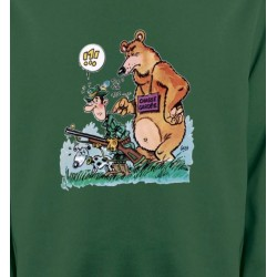 Sweatshirts Chasse et Pêche Humour chasseur (F)
