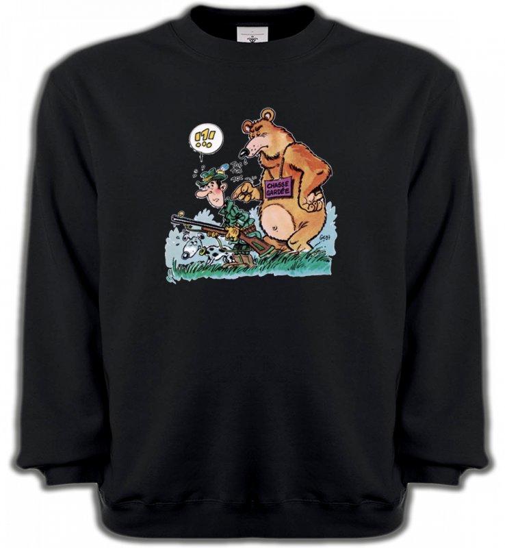 Sweatshirts UnisexeHumour/amourHumour chasseur (F)
