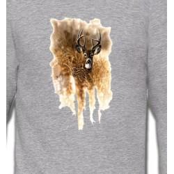 Sweatshirts Chasse et Pêche Cerf en forêt