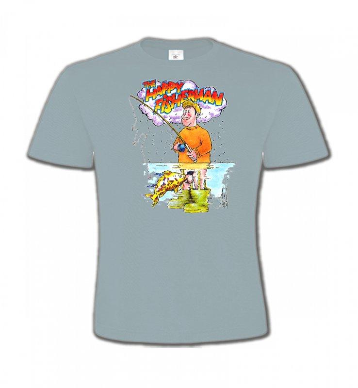 T-Shirts Col Rond EnfantsHumour/amourHumour Pêcheur