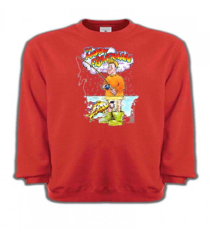 Sweatshirts EnfantsHumour/amourHumour Pêcheur