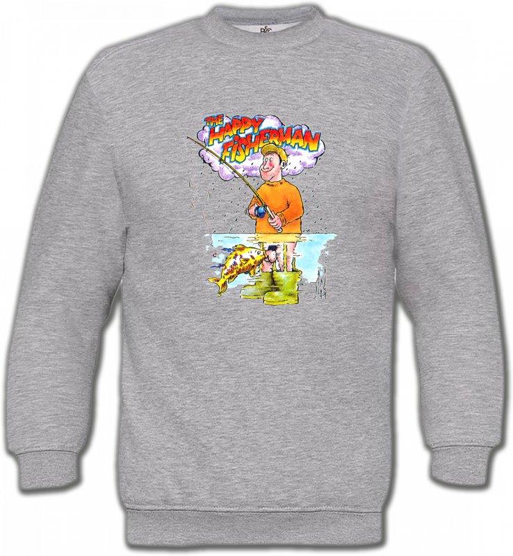 Sweatshirts UnisexeHumour/amourHumour Pêcheur