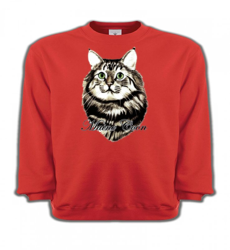Sweatshirts EnfantsRaces de chatsChat Maine Coon (A)