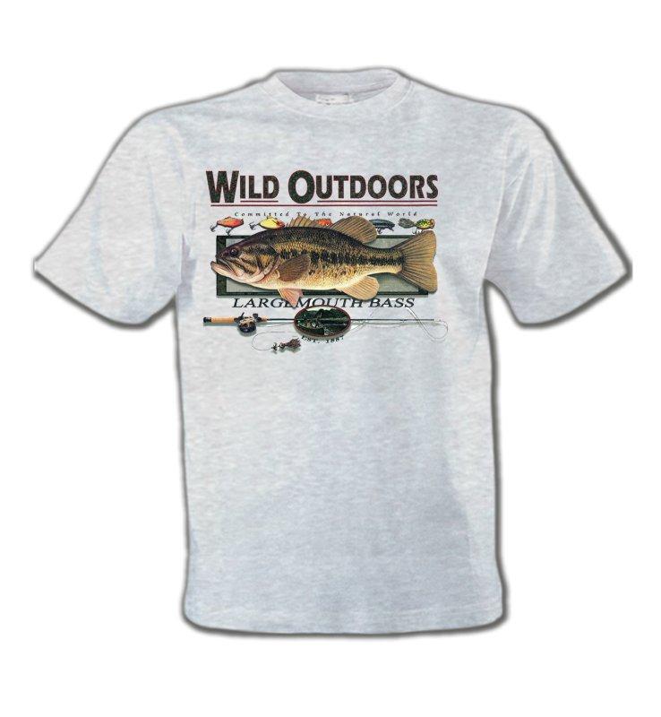 T-Shirts Col Rond EnfantsPêcheTrophée de pêche