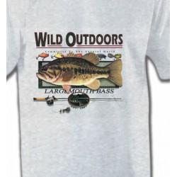 T-Shirts Chasse et Pêche Trophée de pêche