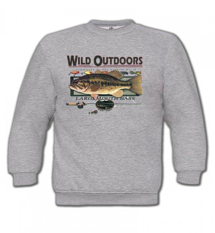 Sweatshirts EnfantsPêcheTrophée de pêche