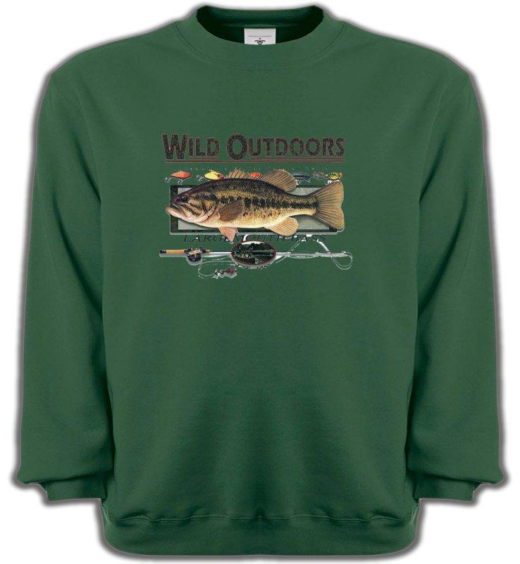 Sweatshirts UnisexePêcheTrophée de pêche