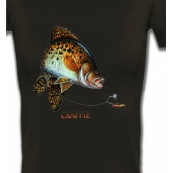 T-Shirts Chasse et Pêche Crappie