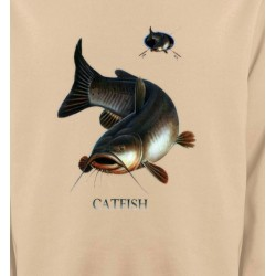 Sweatshirts Chasse et Pêche Poisson chat