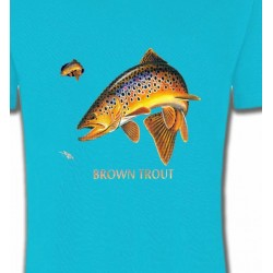 T-Shirts Pêche Brown Trout
