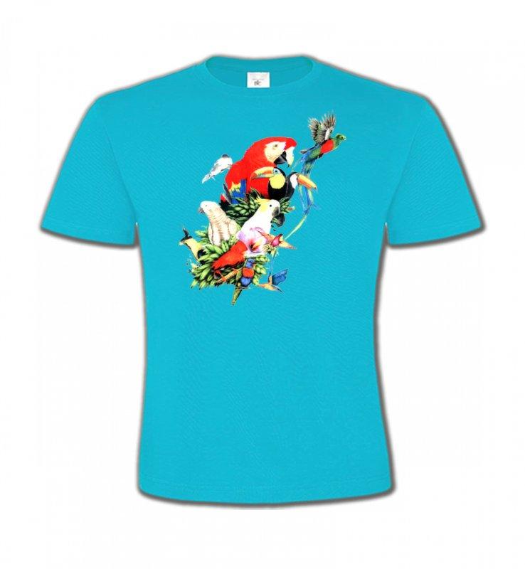 T-Shirts Col Rond Enfantsoiseaux exotiquesToutes races de Perroquets (Q)
