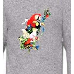 Sweatshirts Sweatshirts Unisexe Toutes races de Perroquets (Q)