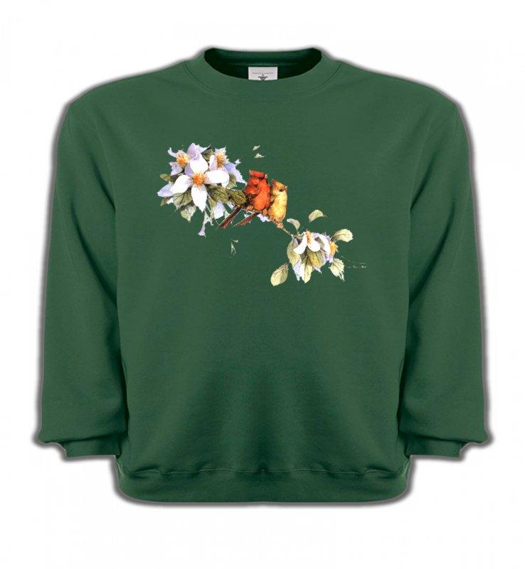 Sweatshirts EnfantsOiseaux diversOiseaux couple de moineau (M)