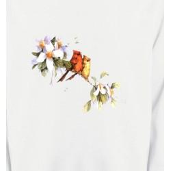 Sweatshirts Sweatshirts Enfants Oiseaux couple de moineau (M)