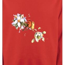 Sweatshirts Sweatshirts Unisexe Oiseaux couple de moineau (M)