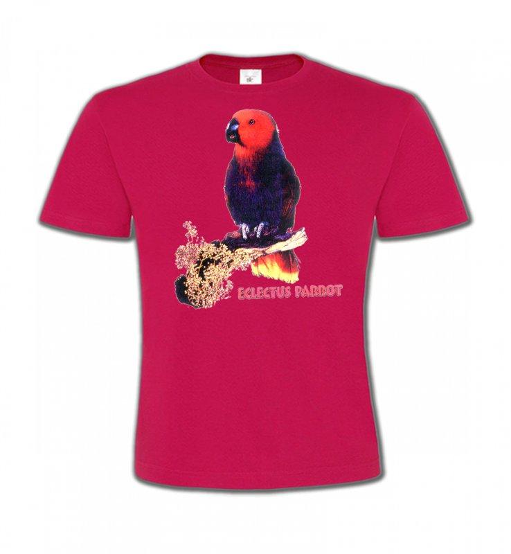 T-Shirts Col Rond Enfantsoiseaux exotiquesPerroquet Electus femelle (I)